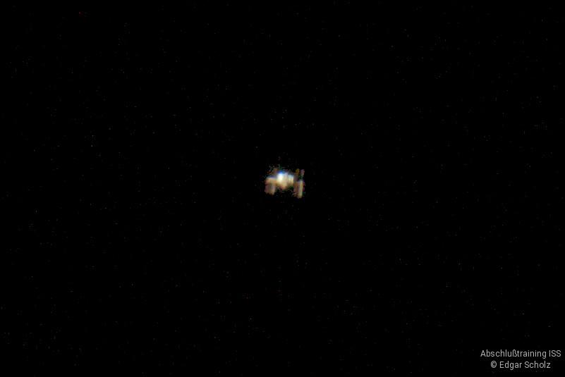 Abschlusstraining ISS