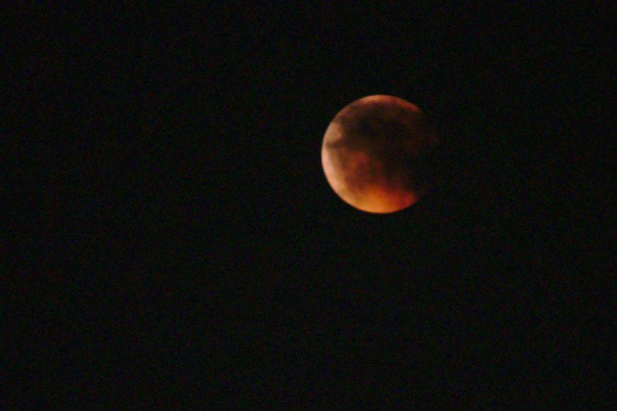 009 Mond in Wolken