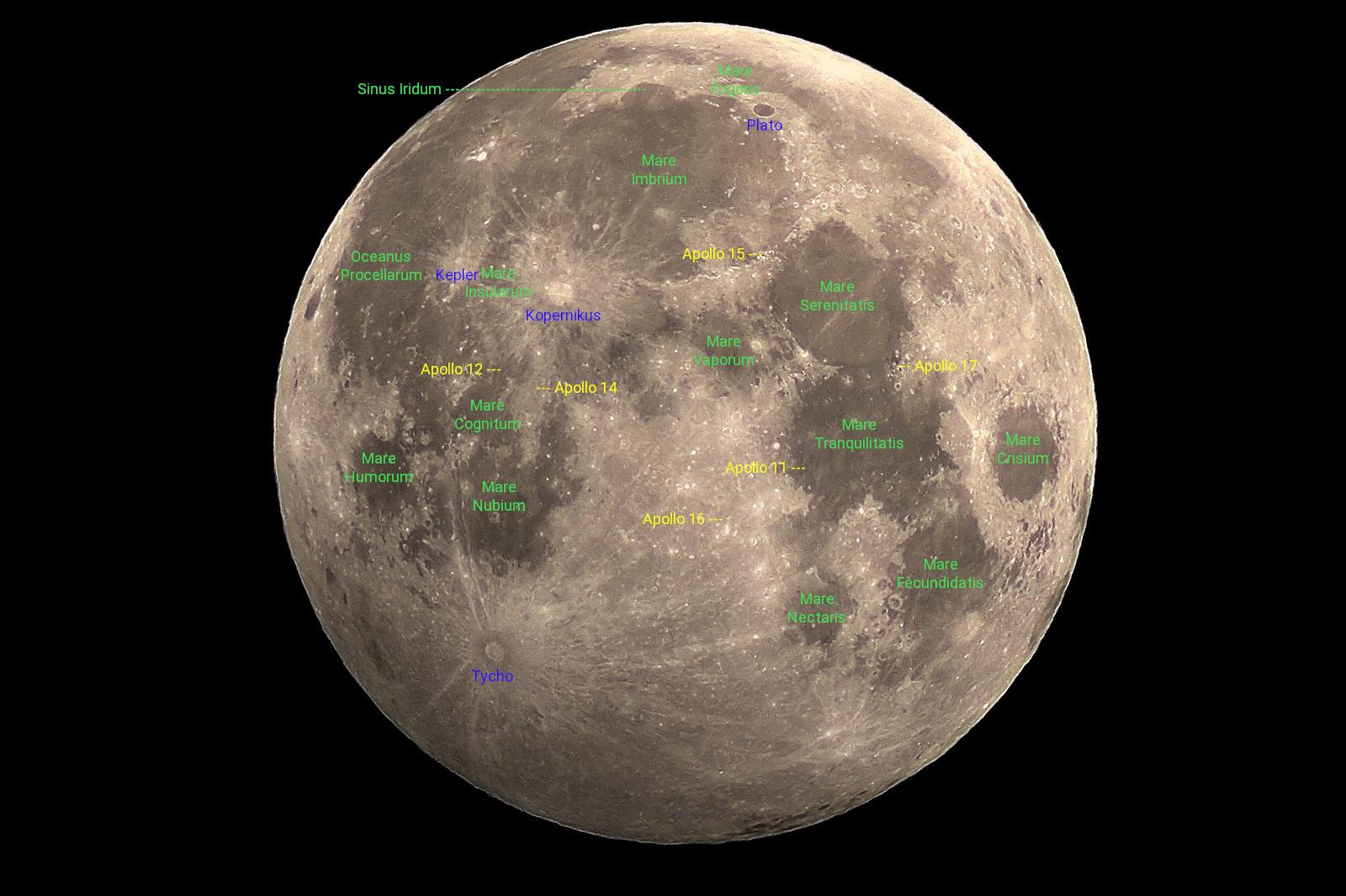 Apollo Mondlandungen